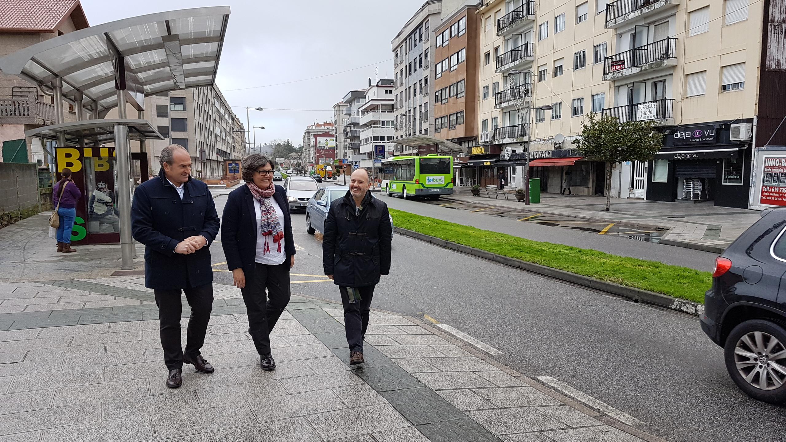 @regades confirma nunha visita ao Porriño que a vila disporá de case 2 millóns de euros do Plan Concellos da @depo_es
