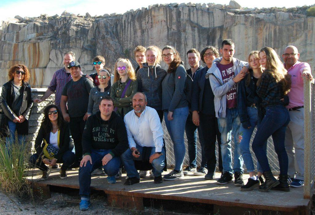 Estudantes franceses de entre 14 e 17 anos, empezan este domingo unha visita de 6 días a O Porriño