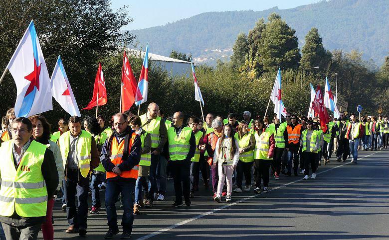O Goberno local do Porriño apoia as reivindicacións das traballadoras e traballadores de Maderas Iglesias e esixe o mantemento dos seus empregos