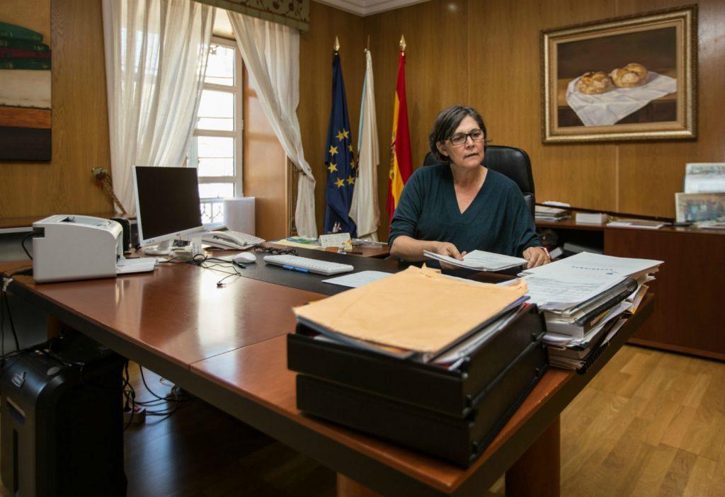 A alcaldesa cumpre co seu compromiso de manter unha xuntanza cos representantes da Comunidade de Montes de Atios e se reunira con eles este mércores