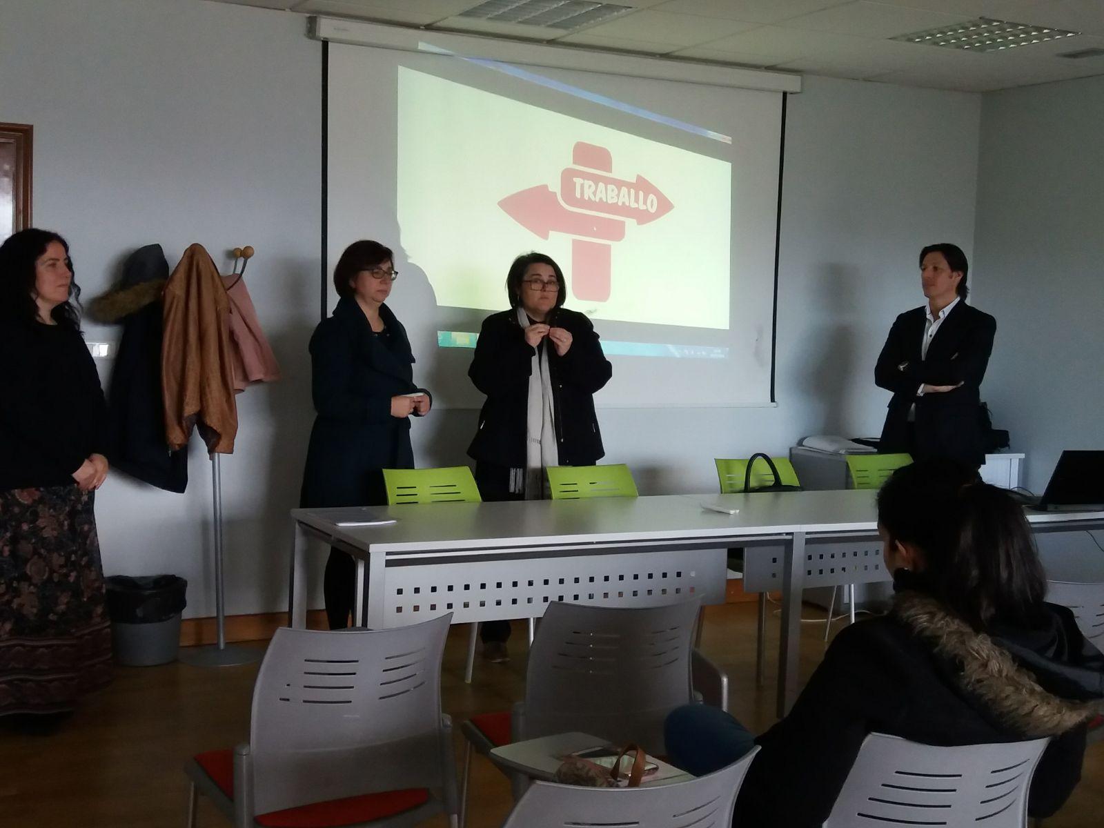 @depo_es e @PorrinoConcello apostan pola formación e a iniciativa por medio de 'DepoEmprende II'