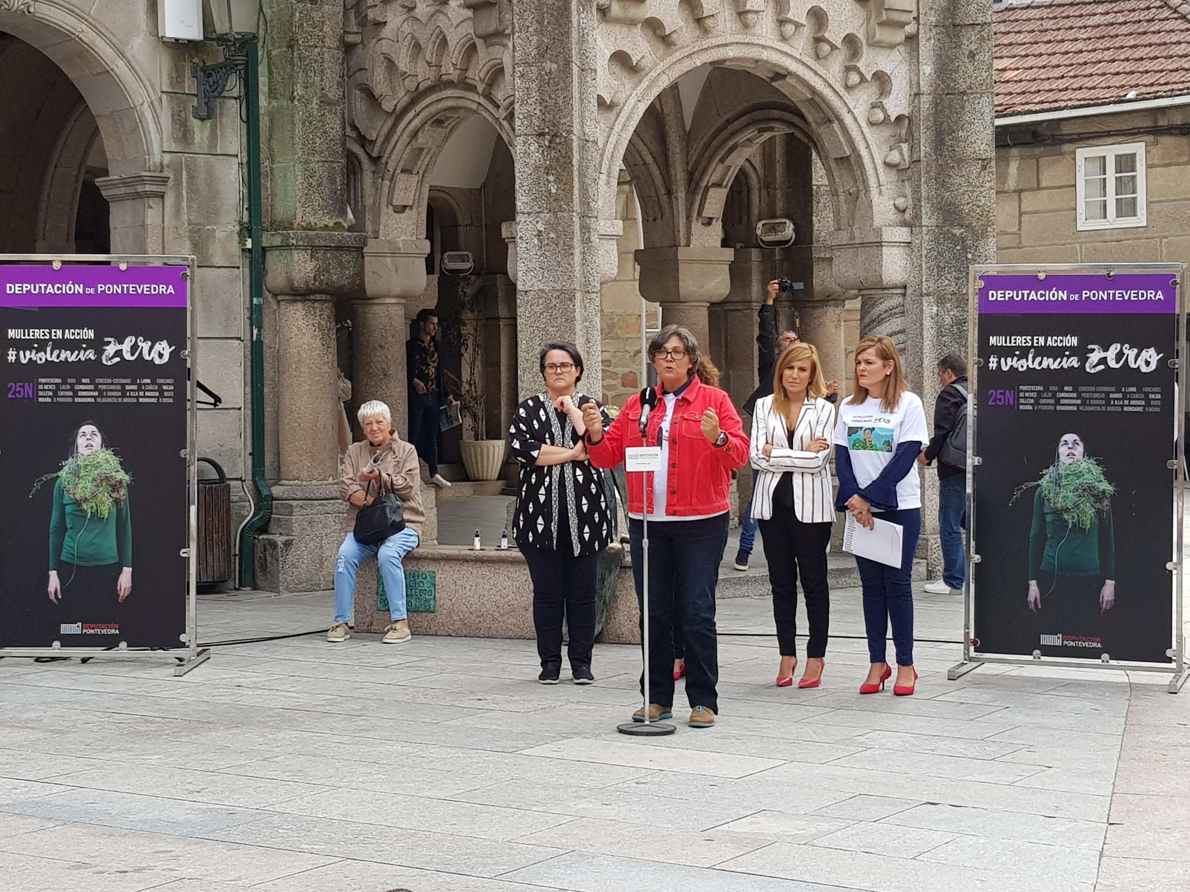 """A alcadesa súmase á iniciativa da @depo_es 'Mulleres en Acción. Violencia Zero' e subliña a importancia de """"desterrar os micromachismos e os macromachismos'"""