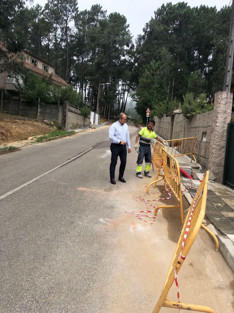 24 vivendas maís do barrio de A Gándara, en Torneiros, poderán conectarse á Rede Municipal de Abastecemento dende principios de outubro