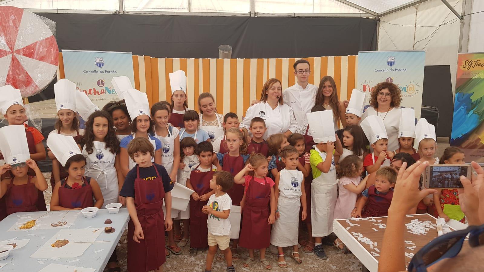 Pinchonen@ este sábado co 'Obradoiro de chocolates e galletas' da cociñeira e blogueira Inés Carcacía