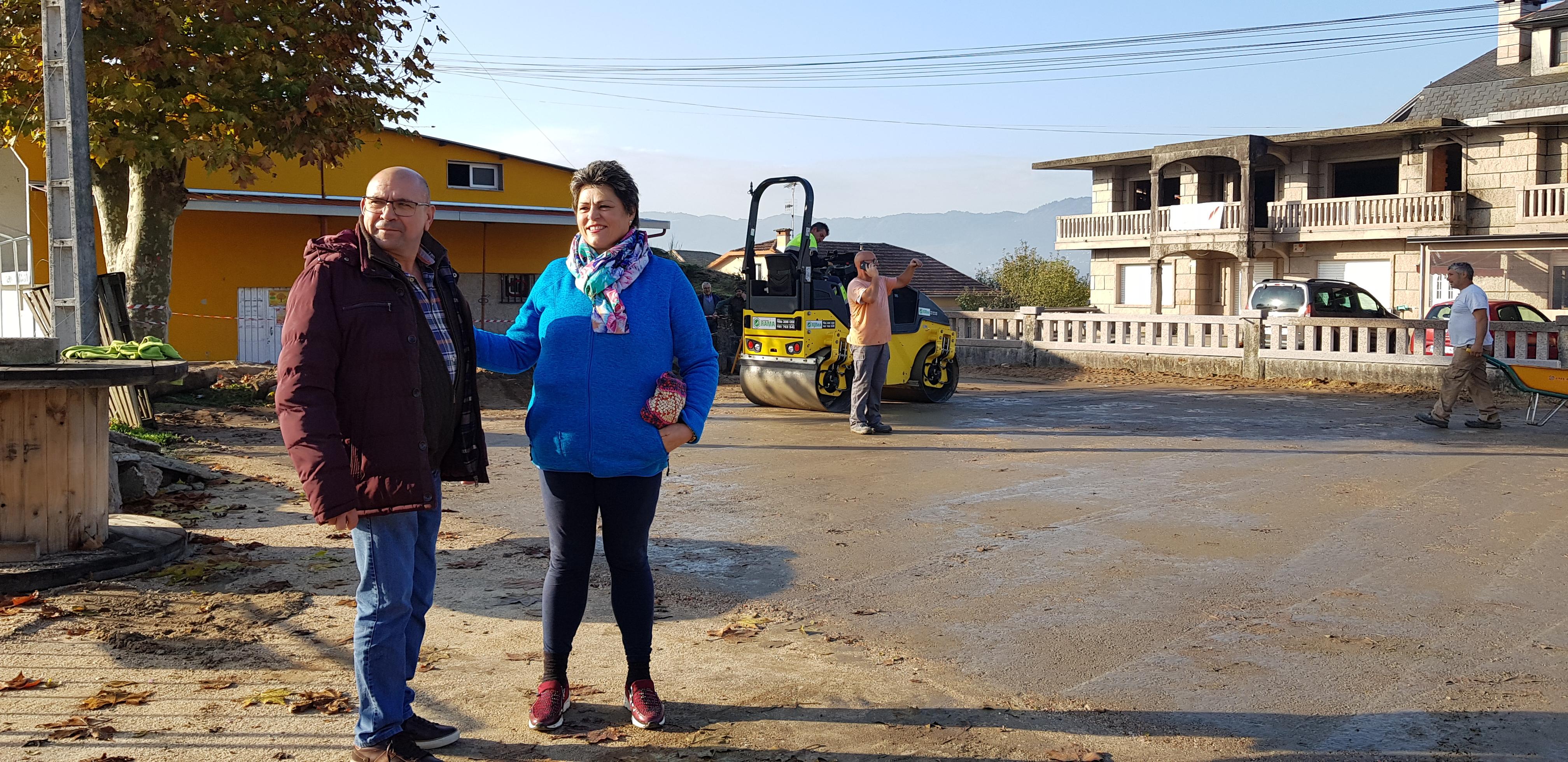 O Goberno local continúa coa reforma dos parques infantís: o do Centro Social e Cultural de Atios, que conta cun investimento de 40.000€, estará rematado o mes que vén