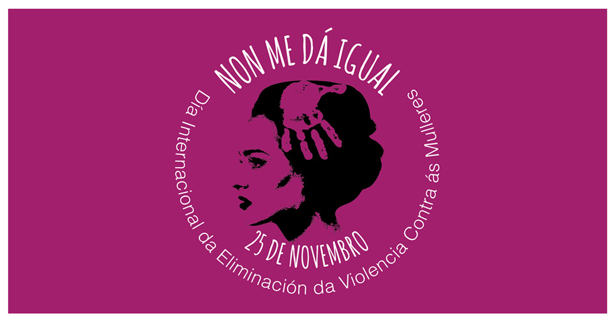 Mercedes Peón, concerto de RAP, Concurso de Tuits, 'Mulleres de cinema' e a lembranza ás vítimas, forman parte do Programa do Concello co gallo do 'Día da Eliminación da Violencia contra a Muller'