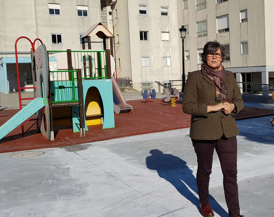 Remata a reforma e recuperación dos parques infantís da Fase I de Torneiros e do Centro Social e Cultural de Atios, cun investimento de preto de 90.000€