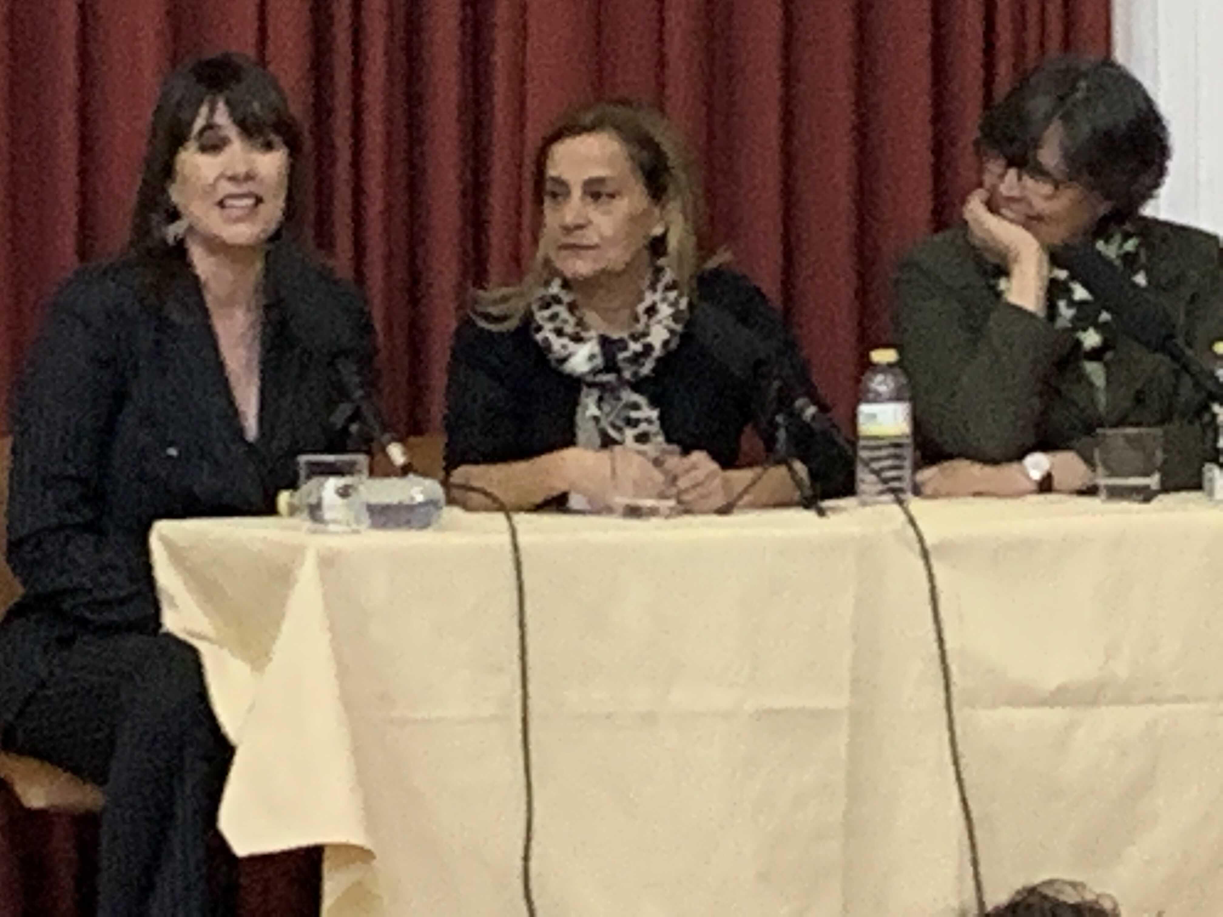"""Conclue o ciclo """"As Mulleres fan Porriño"""" MABEL LOZANO INSTA ÓS HOMES A SER PROACTIVOS CONTRA A PROSTITUCION E A TRATA"""