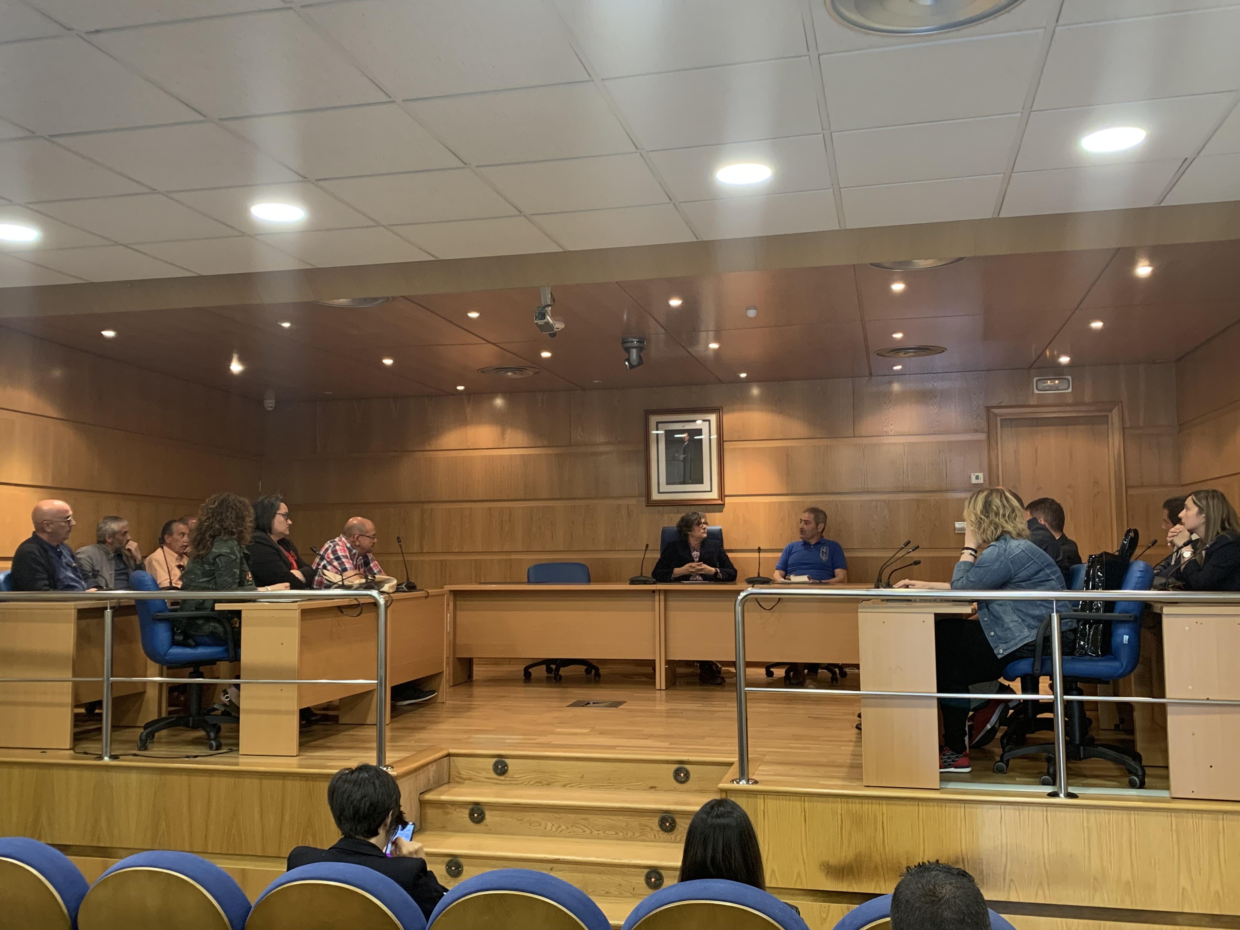 Pleno de aprobación de actas da corporación municipal saínte