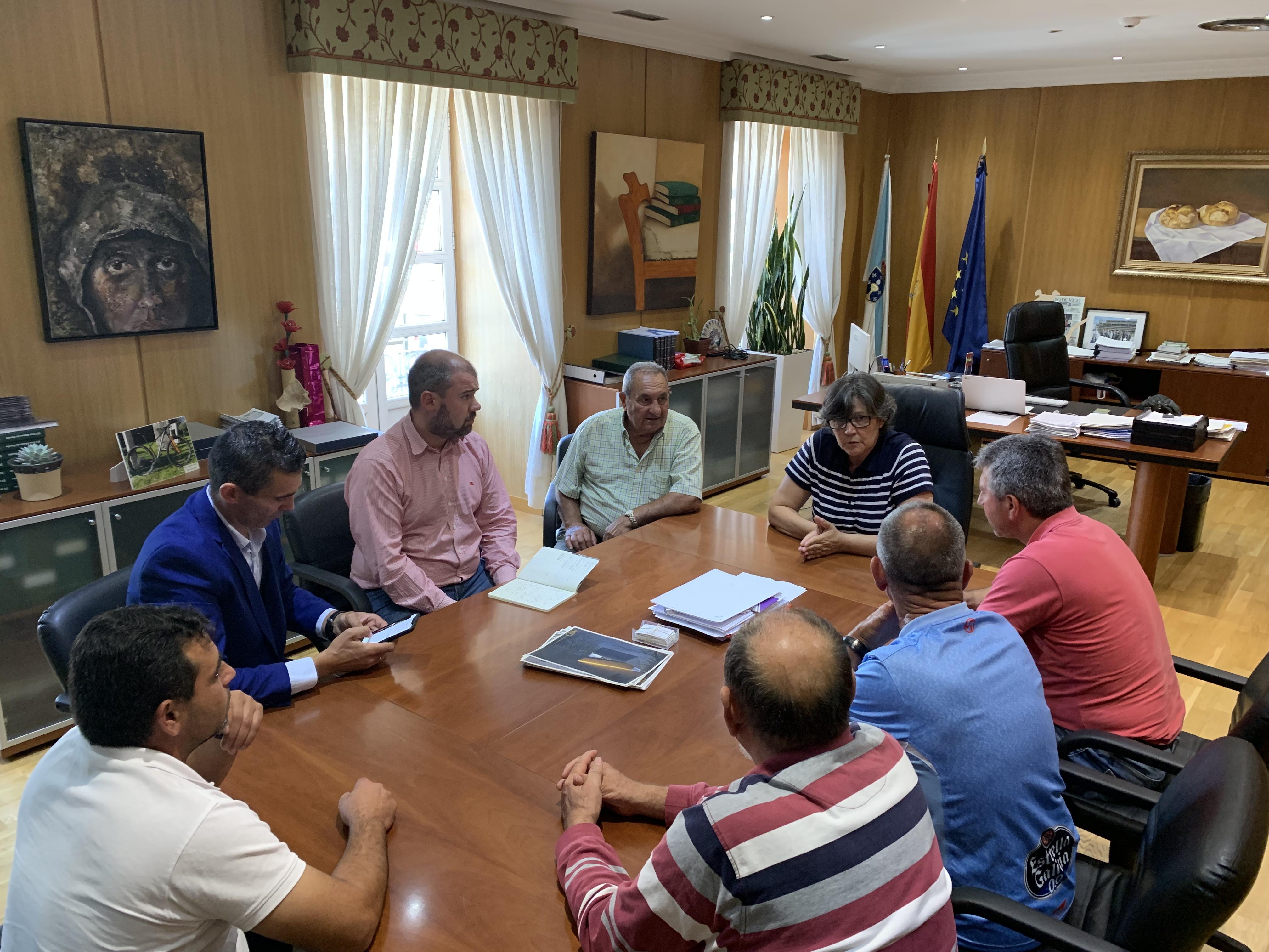 A alcaldesa do Porriño reclama por carta á Xunta de Galicia as melloras prometidas na travesía de A Vaquería  e garante o pleno respaldo do Concello ás reivindicacións veciñais