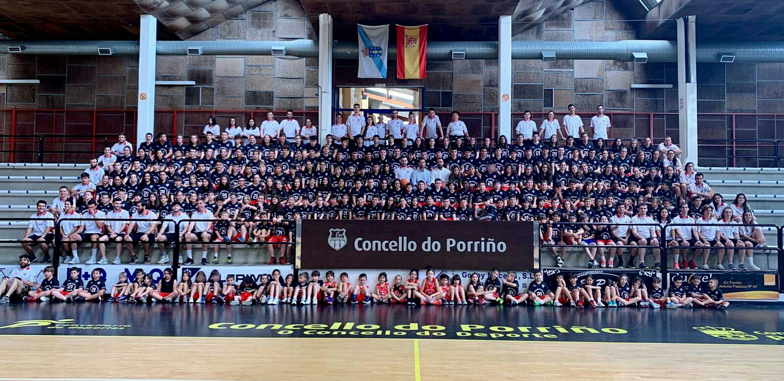 """236 nen@s participan no XXI Campus do club """"Porriño Baloncesto Base"""""""