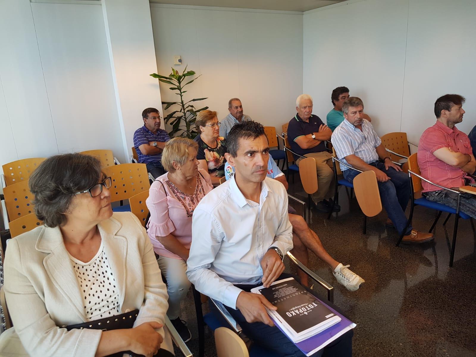 A Xunta de Galicia comprometeuse coa Alcaldesa e veciños a presentar en tres meses un proxecto de mellora da seguridade vial na travesía de A Vaquería