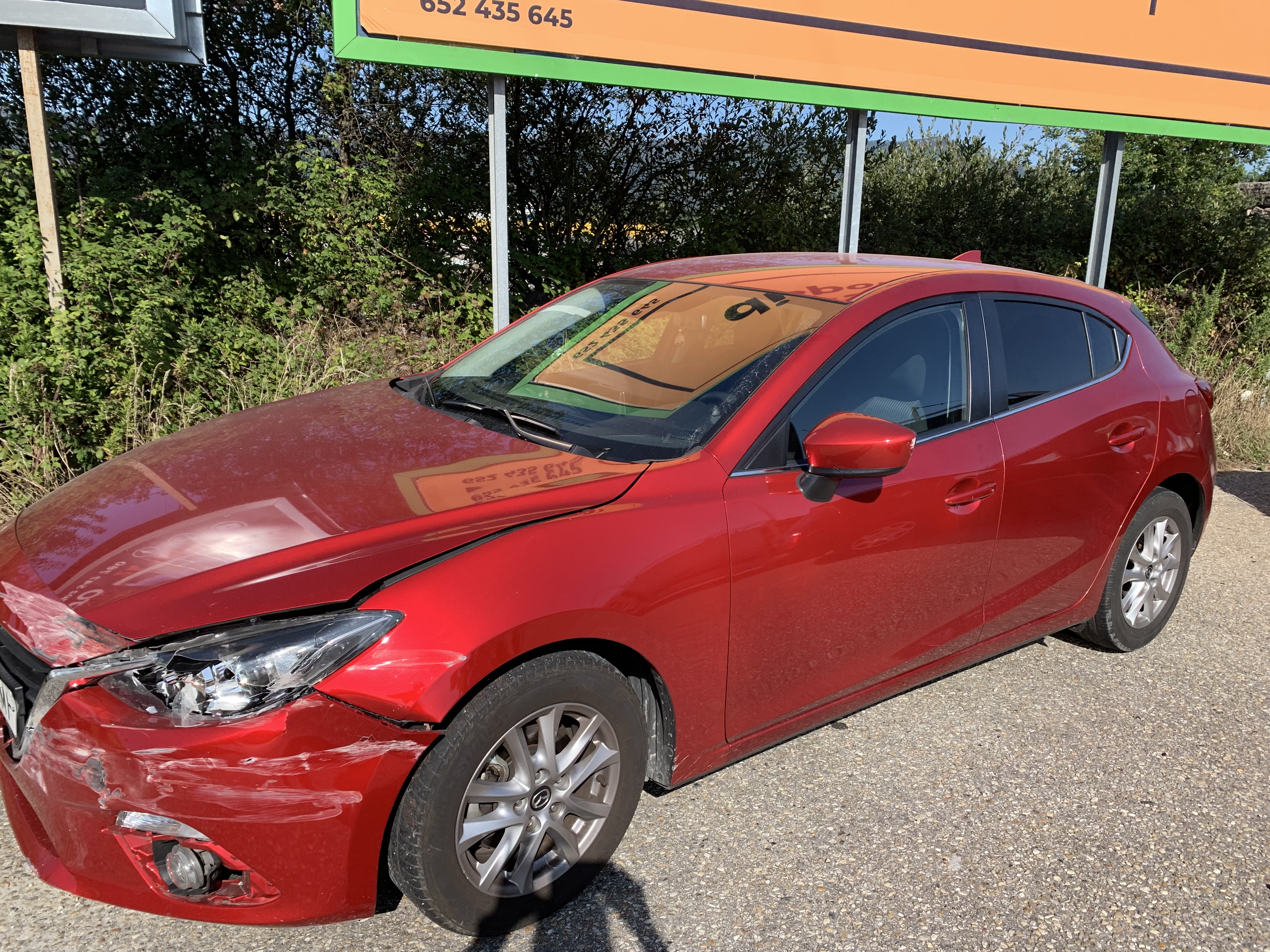 A alcaldesa sufriu un accidente de tráfico na Autovía