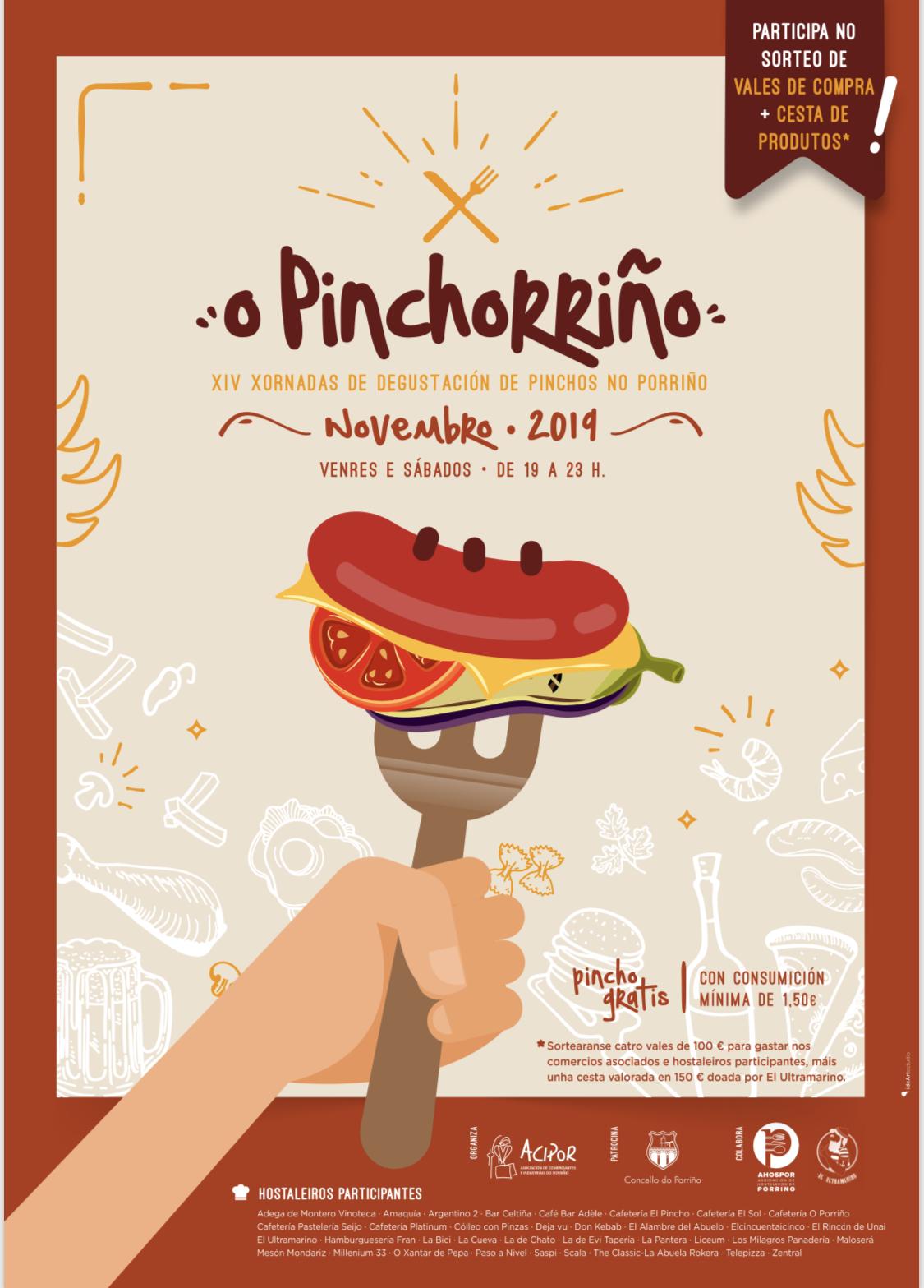 Cartel do XIV Pinchorriño