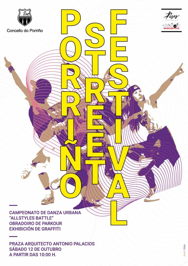 """O sábado celebraráse o """"Porriño Street Festival"""" que xa sufrira dous aprazamentos"""