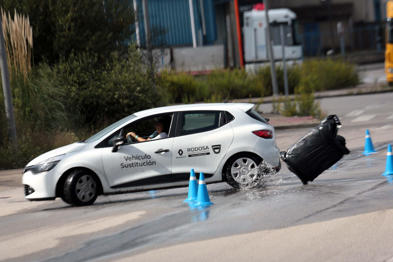 Este sábado, segunda quenda do curso de conducción segura, patrocinado polo Concello