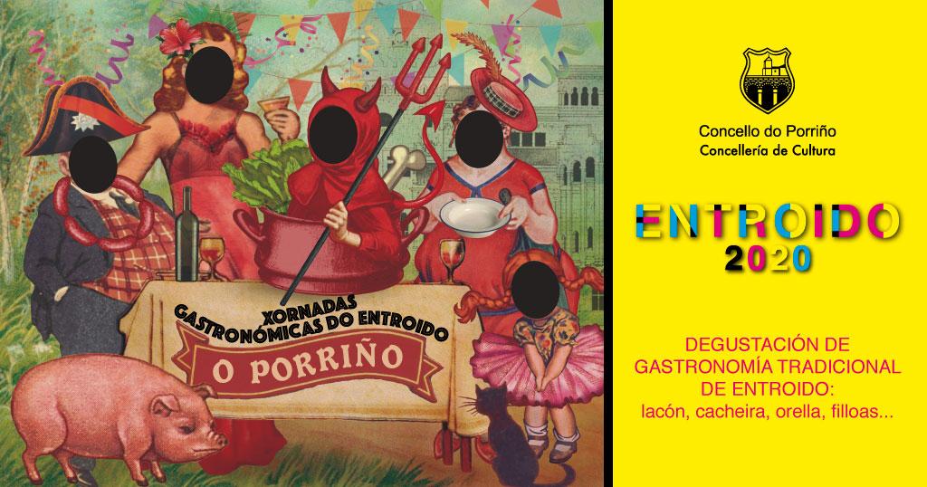 O sábado 15 comezarán as Xornadas Gastronómicas do Entroido