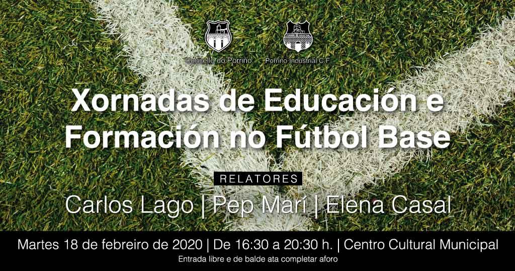 Sesión formativa sobre futbol base promovida polo Concello e o Porriño Industrial