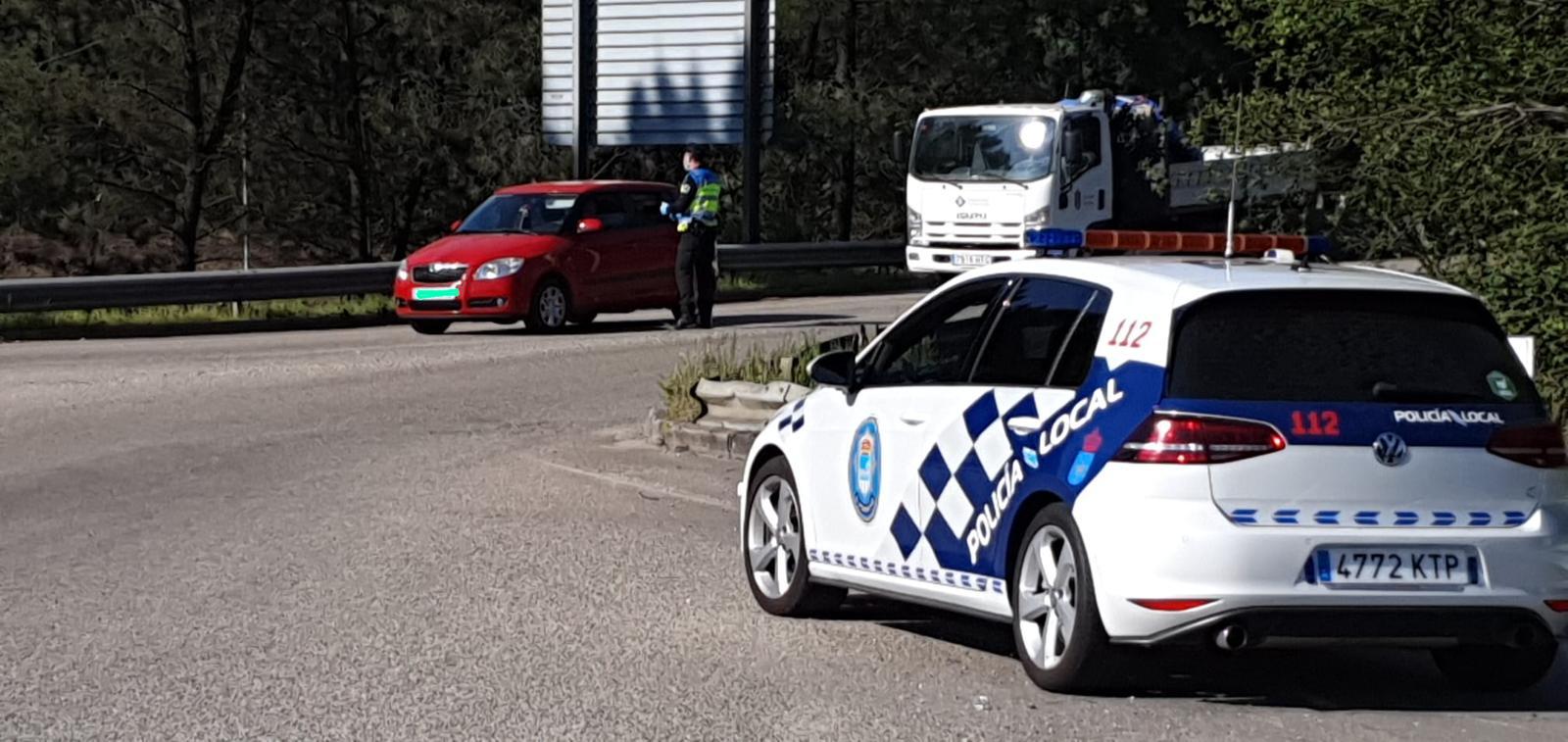 A Policía Local realizou 155 denuncias por incumprimentos do confinamento nas tres semanas transcorridas do estado de alarma