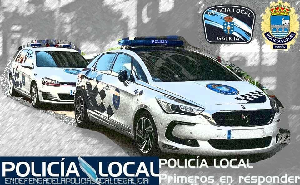 A Policía Local agradece a colaboración cidadá para esclarecer un roubo no interior dun vehículo