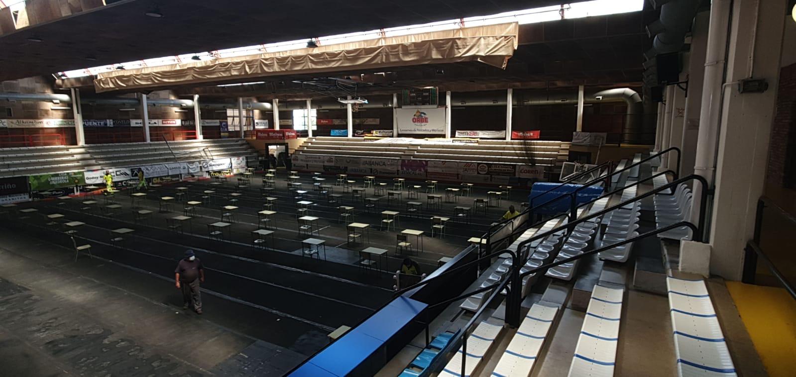 """Os dous pavillóns do Polideportivo Municipal acollerán as probas da """"ABAU"""" de alumnos deo Porriño e Mos"""