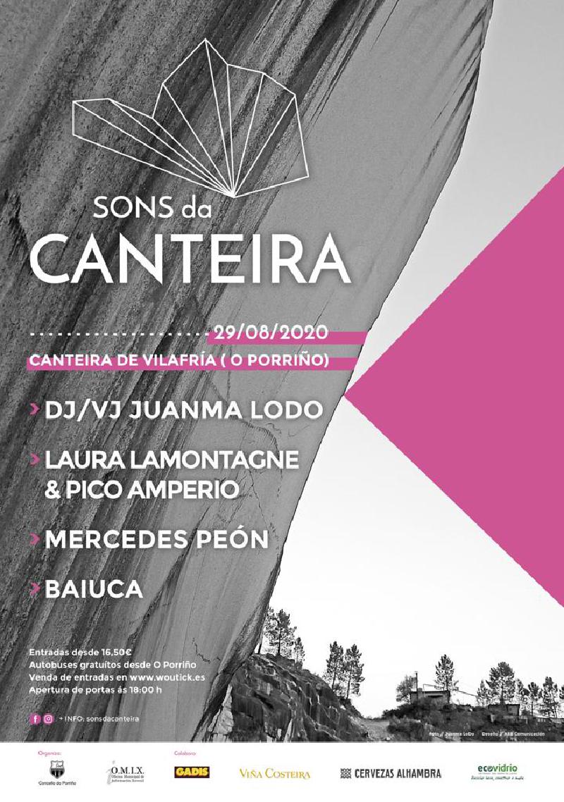 """A Concellería de Cultura anuncia o Festival """"Sons da canteira"""" que terá lugar en Vilafría"""