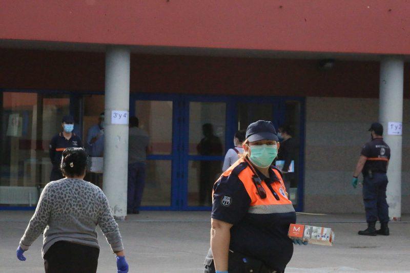 O Concello felicita á Agrupación de Voluntarios de Protección Civil polo seu constante traballo, especialmente sobranceiro con esta pandemia