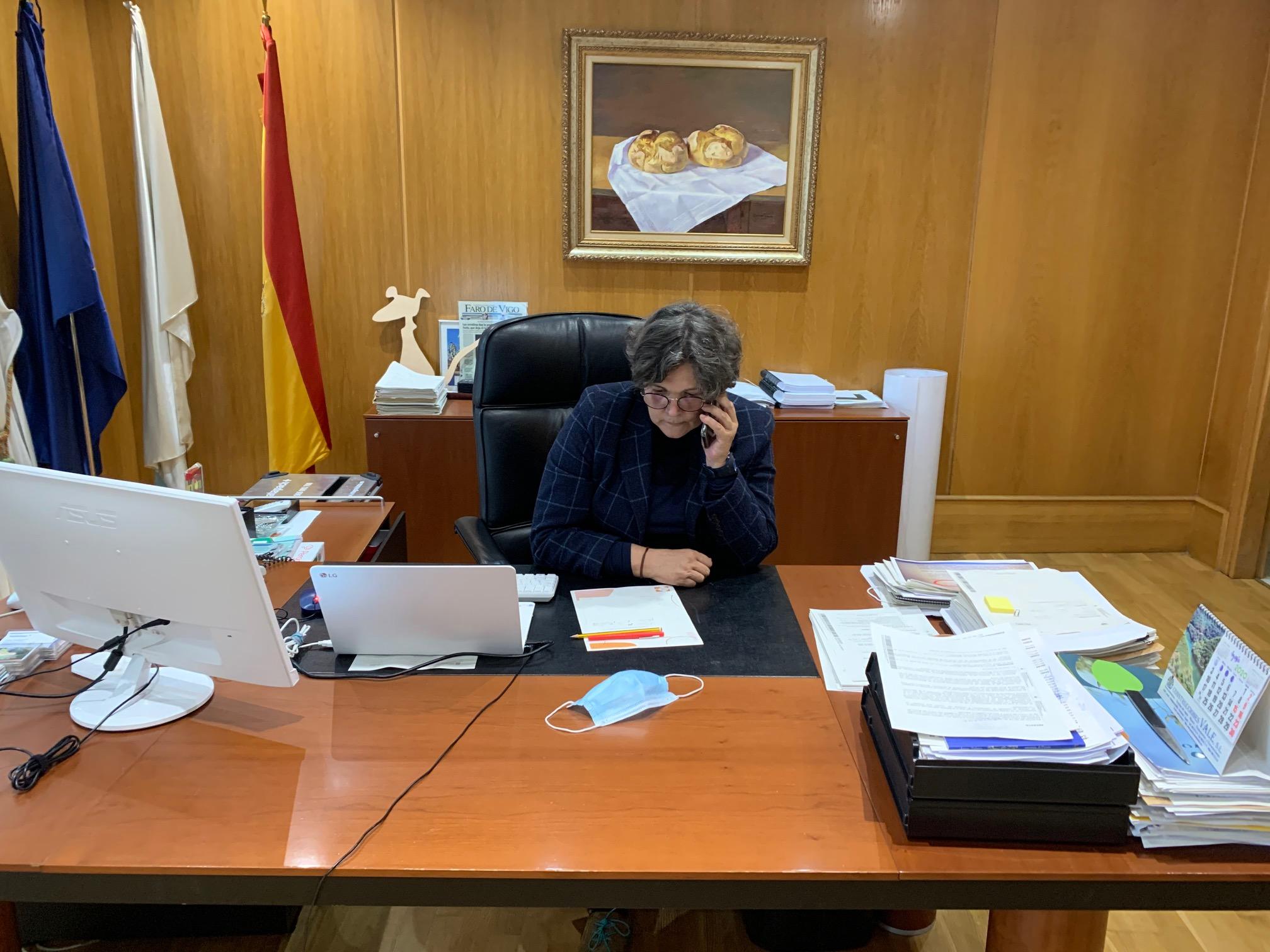 A Consellería de Sanidade recoñece á alcaldesa Eva García que O Porriño acadou 46 positivos por Covid