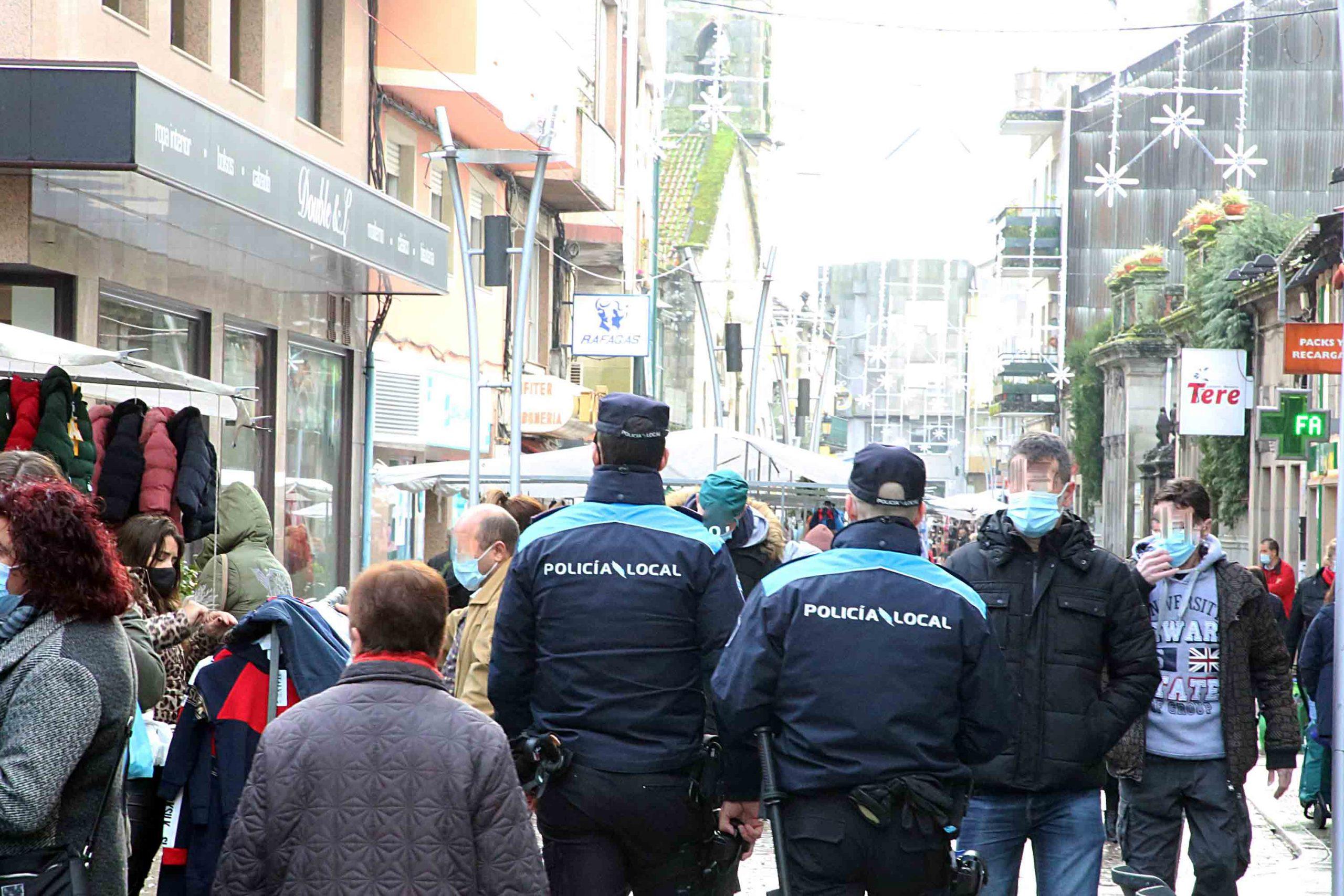 Todo o persoal da Policía Local vacinarase contra a Covid