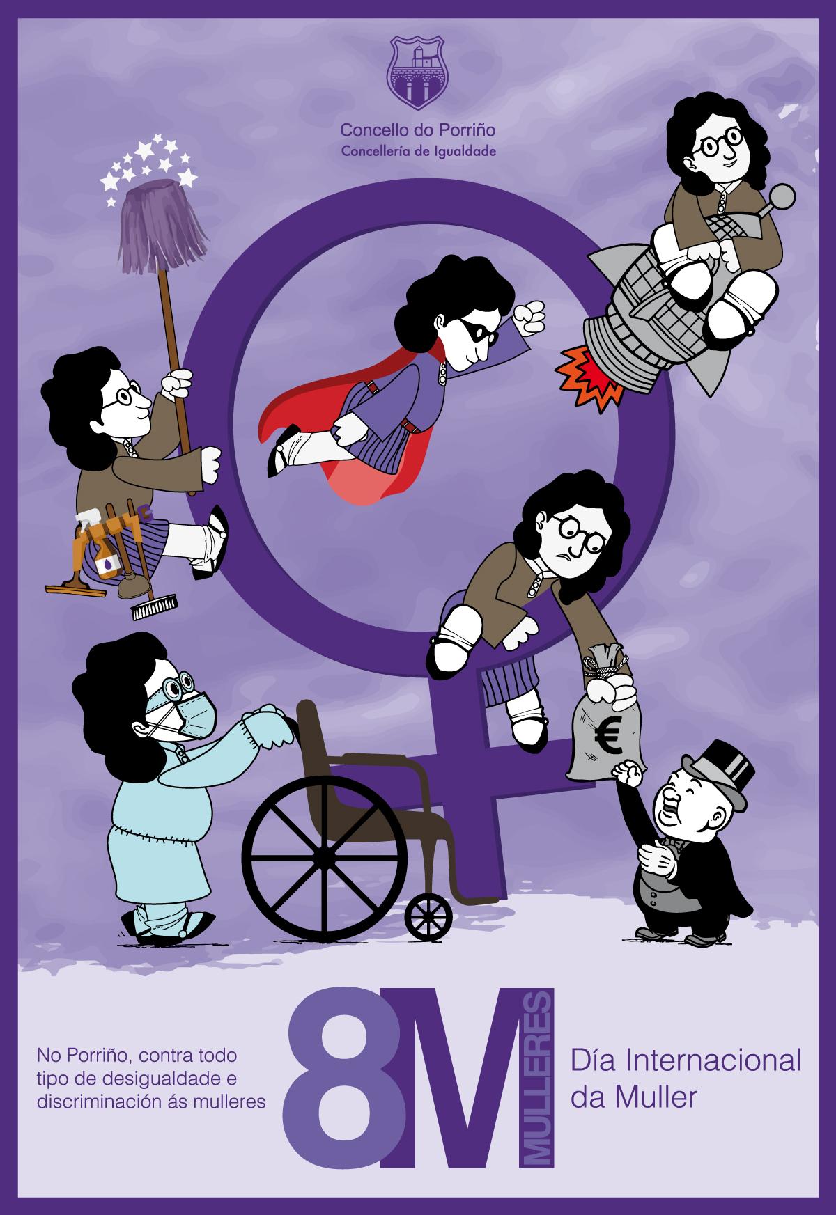 8M: Conmemoración do Día Internacional da Muller