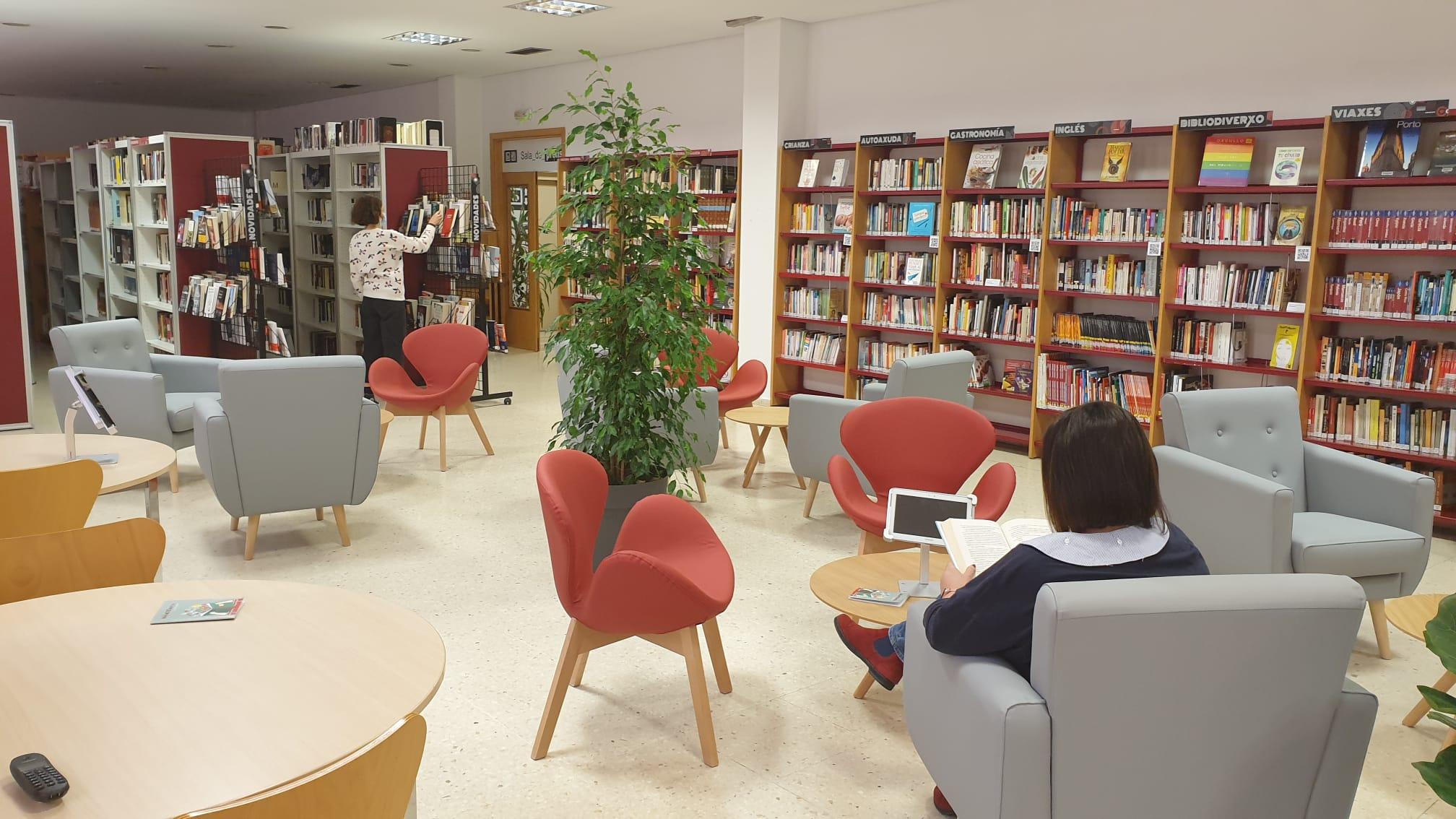 Reapertura da biblioteca do Porriño: unha biblioteca sempre na vangarda