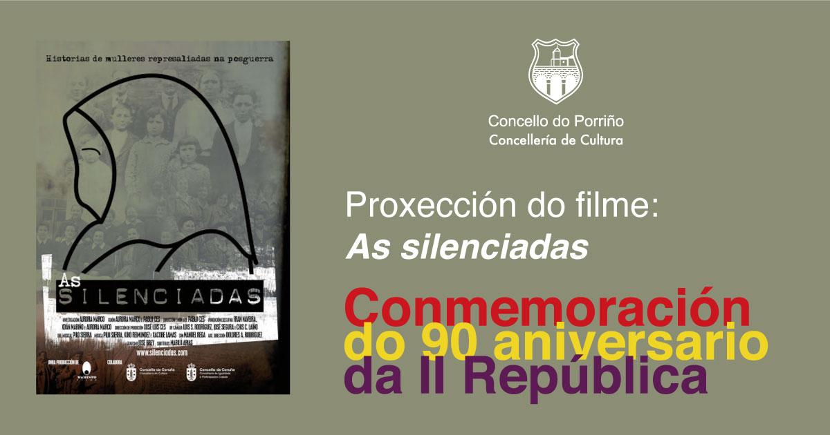 """Aberta inscrición para asistir á proxección da película """"As silenciadas"""""""