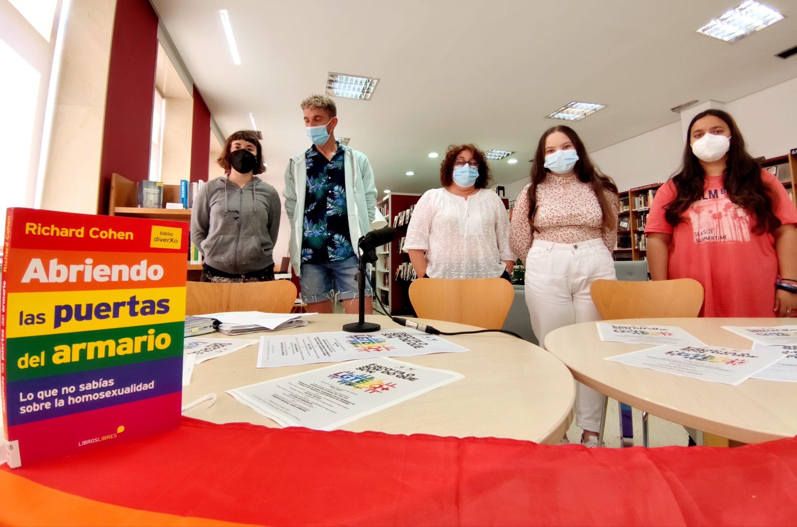 Presentación dos actos de celebración do Día do Orgullo LGTBIQ+