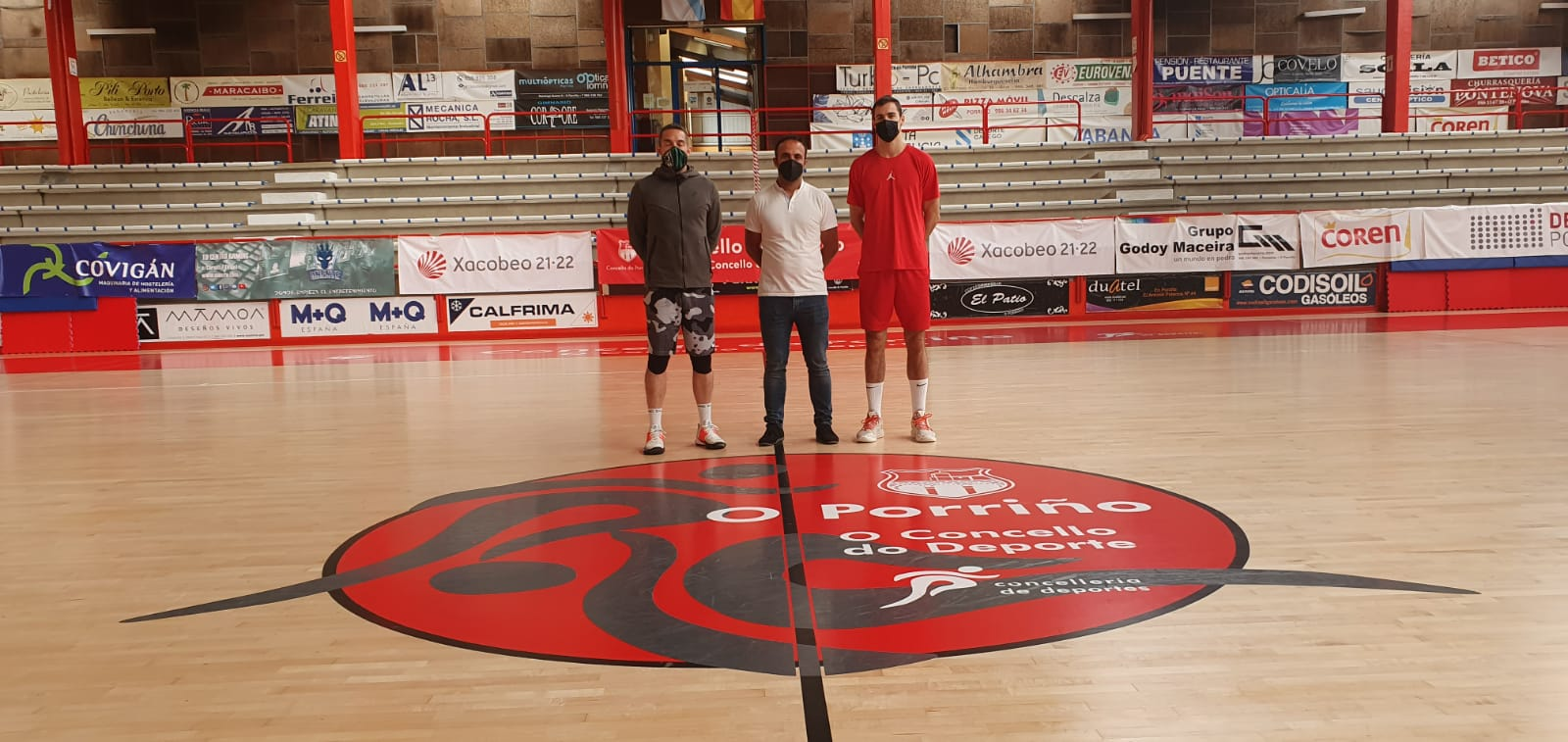 Os irmáns Abalde afinaron a súa preparación no Porriño a piques de incorporarse coas súas respectivas seleccións