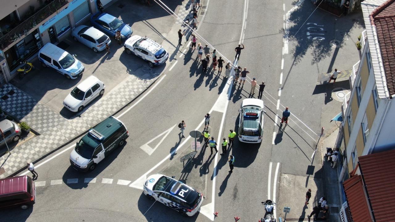 Aviso de cortes de tráfico polo paso da Volta Ciclista a Galicia